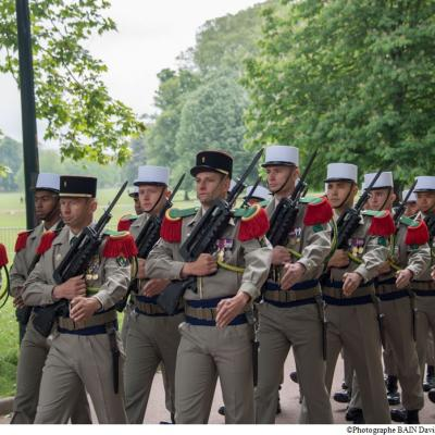 Photos de la cérémonie du 8 Mai 2017 , célébrée au Parc de la Tète d'Or à Lyon