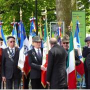 Commémoration de l'Armistice de 1945 Lyon 8 mai 2017 069