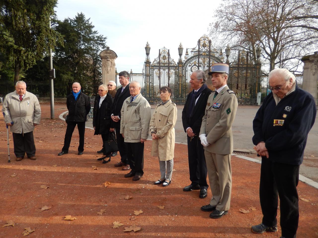 Cérémonie vendredi 28 novembre 2014 en hommage au  Maréchal Leclerc