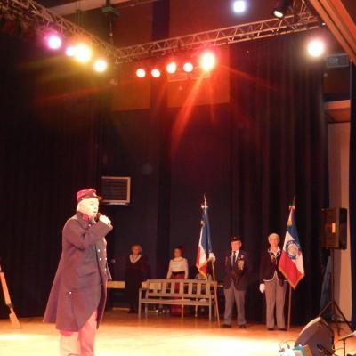 Dimanche 14 décembre 2014 à la Tour de Salvagny présentation du spectacle de la Clé des Chants en hommage aux