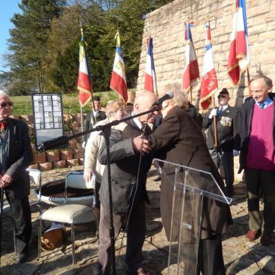 Hommage aux résistants de Montluc fusillés à la Doua 12-03-15