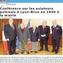 conférence les Aviateurs Polonais