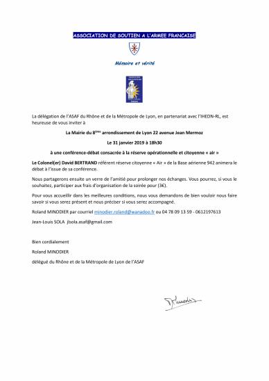 Asaf invitation conference du 31 01 19