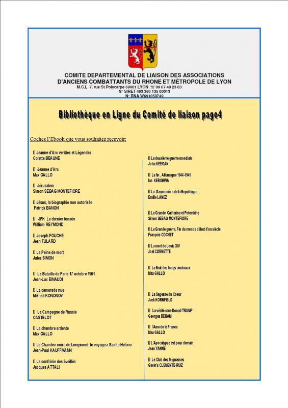 Bibliotheque en ligne du comite de liaison page4