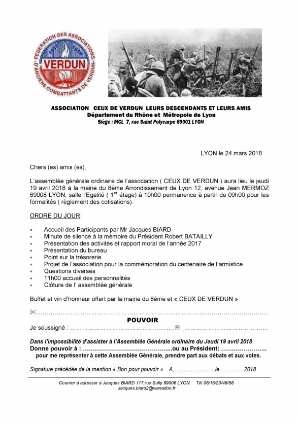 Ceux de verdun convocation ag du 19 avril 2018