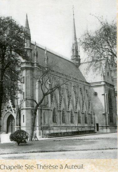 Chapelle auteuil