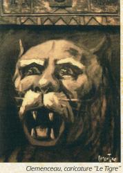 Clemenceau caricature le tigre