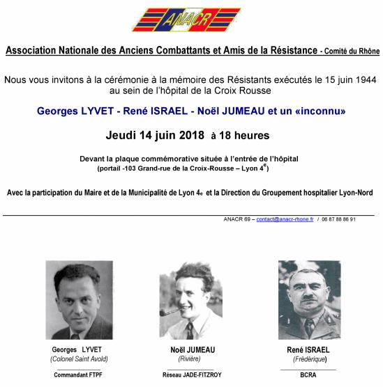 Invitation hopital croix rousse 2018r