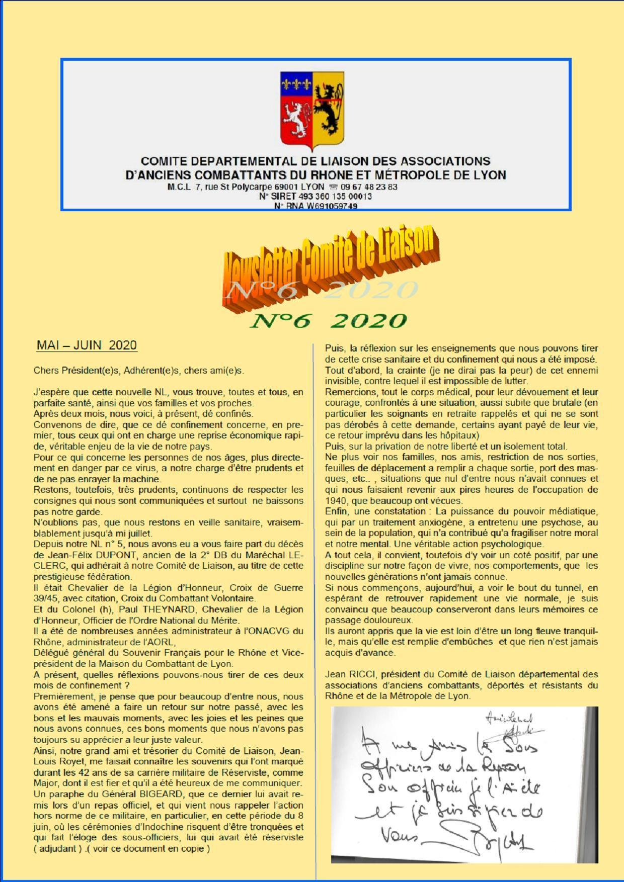 Newsletter n 6